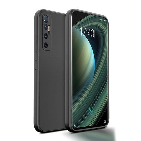 Coque Ultra Fine Silicone Souple 360 Degres Housse Etui S01 pour Xiaomi Mi 10 Ultra Noir