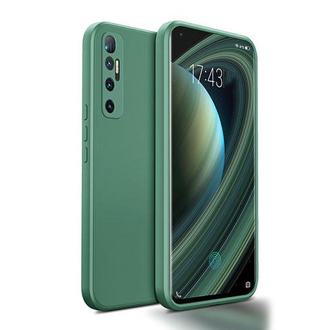 Coque Ultra Fine Silicone Souple 360 Degres Housse Etui S01 pour Xiaomi Mi 10 Ultra Vert Nuit