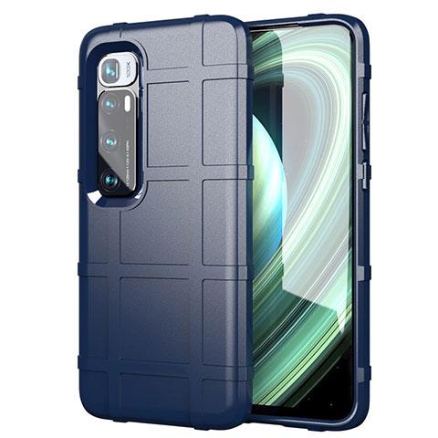 Coque Ultra Fine Silicone Souple 360 Degres Housse Etui S05 pour Xiaomi Mi 10 Ultra Bleu