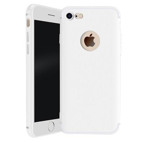 coque ultra fine silicone souple housse etui h01 pour apple iphone 7 blanc 23067 1