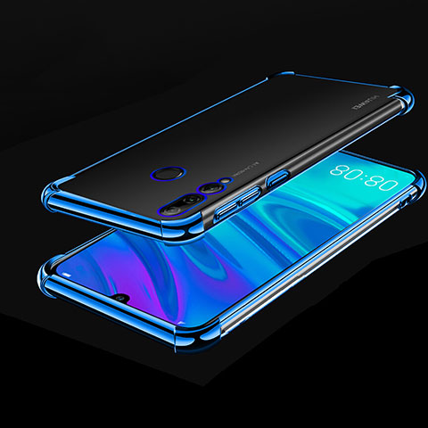 Coque Ultra Fine TPU Souple Housse Etui Transparente H01 pour Huawei Honor 20 Lite Bleu