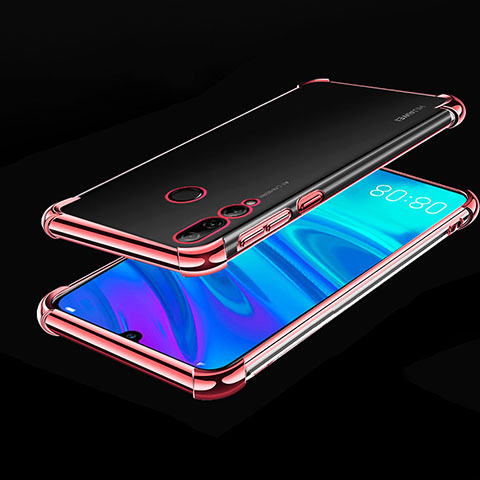 Coque Ultra Fine TPU Souple Housse Etui Transparente H01 pour Huawei Honor 20 Lite Or Rose