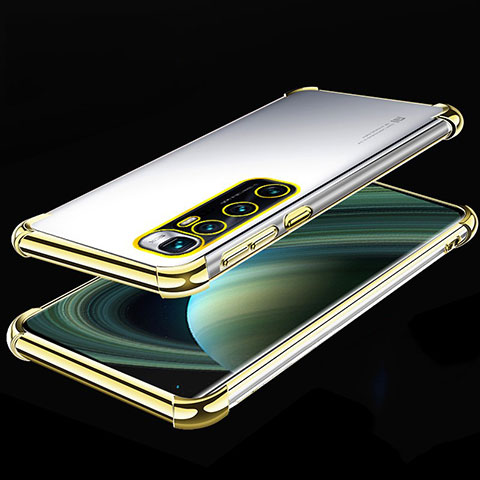 Coque Ultra Fine TPU Souple Housse Etui Transparente H04 pour Xiaomi Mi 10 Ultra Or