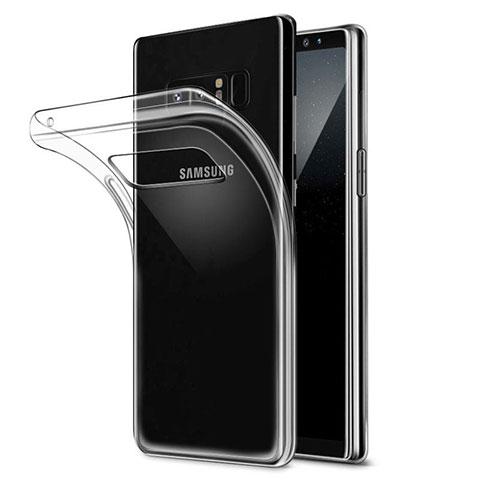 Coque Ultra Fine TPU Souple Transparente H04 pour Samsung Galaxy Note 8 Clair