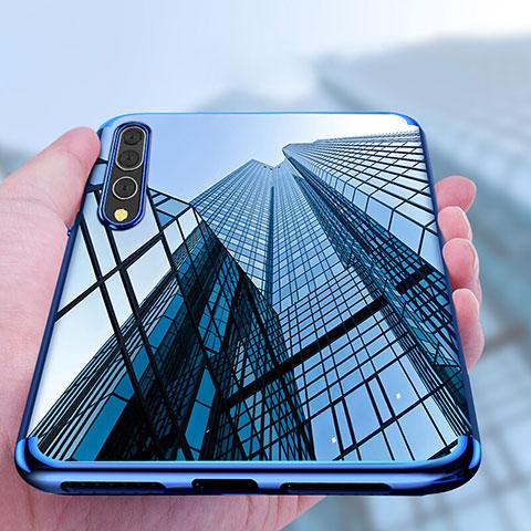 Coque Ultra Fine TPU Souple Transparente T11 pour Huawei P20 Pro Bleu