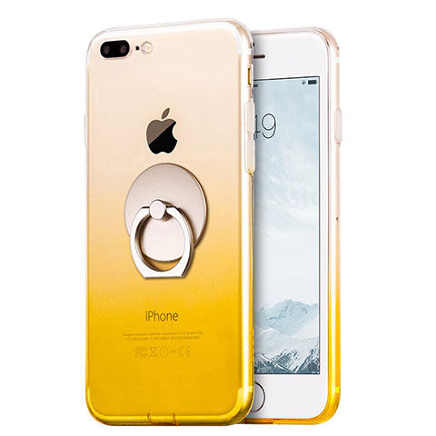 coque iphone 7 fine jaune