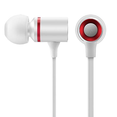 Ecouteur Casque Filaire Sport Stereo Intra-auriculaire Oreillette H29 Blanc