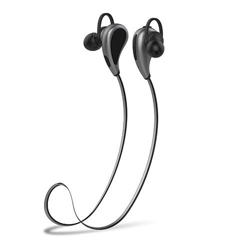 Ecouteur Sport Bluetooth Stereo Casque Intra-auriculaire Sans fil Oreillette H41 Gris