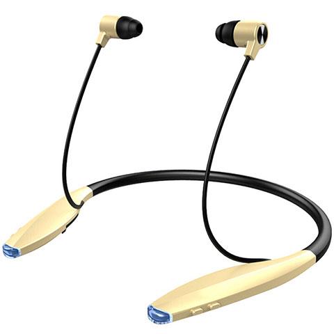 Ecouteur Sport Bluetooth Stereo Casque Intra-auriculaire Sans fil Oreillette H51 Or