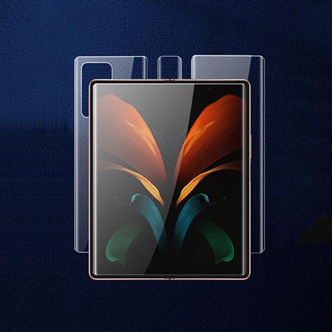 Film Protecteur d'Ecran Avant et Arriere pour Samsung Galaxy Z Fold2 5G Clair