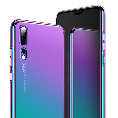 Housse Ultra Fine TPU Souple Transparente T05 pour Huawei P20 Pro Clair