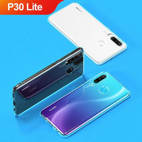 Housse Ultra Fine TPU Souple Transparente T05 pour Huawei P30 Lite Clair