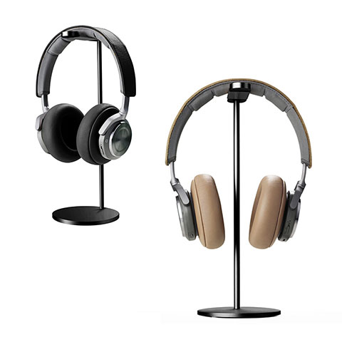 Support Casque Ecouteur Cintre Universel H01 Noir