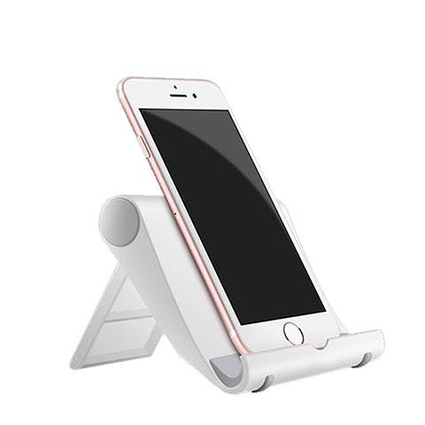 Support de Bureau Support Smartphone Universel Blanc