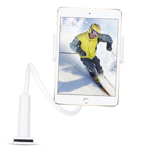 Support de Bureau Support Tablette Flexible Universel Pliable Rotatif 360 T38 pour Huawei MatePad 10.4 Blanc