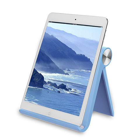 Support de Bureau Support Tablette Universel T28 pour Huawei MatePad 10.4 Bleu Ciel