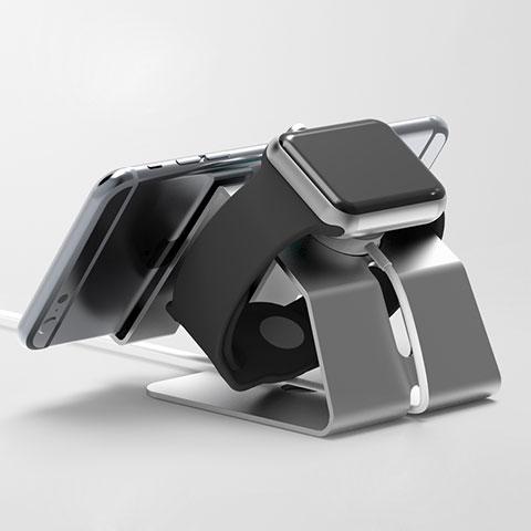 Support de Station de Charge Pied Support Crochet C03 pour Apple iWatch 42mm Noir