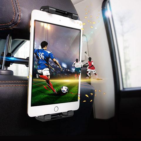 Support Tablette Universel Voiture Siege Arriere Pliable Rotatif 360 B01 pour Huawei MatePad 10.4 Noir