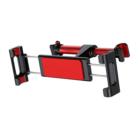 Support Telephone Universel Voiture Siege Arriere Pliable Rotatif 360 B02 Rouge