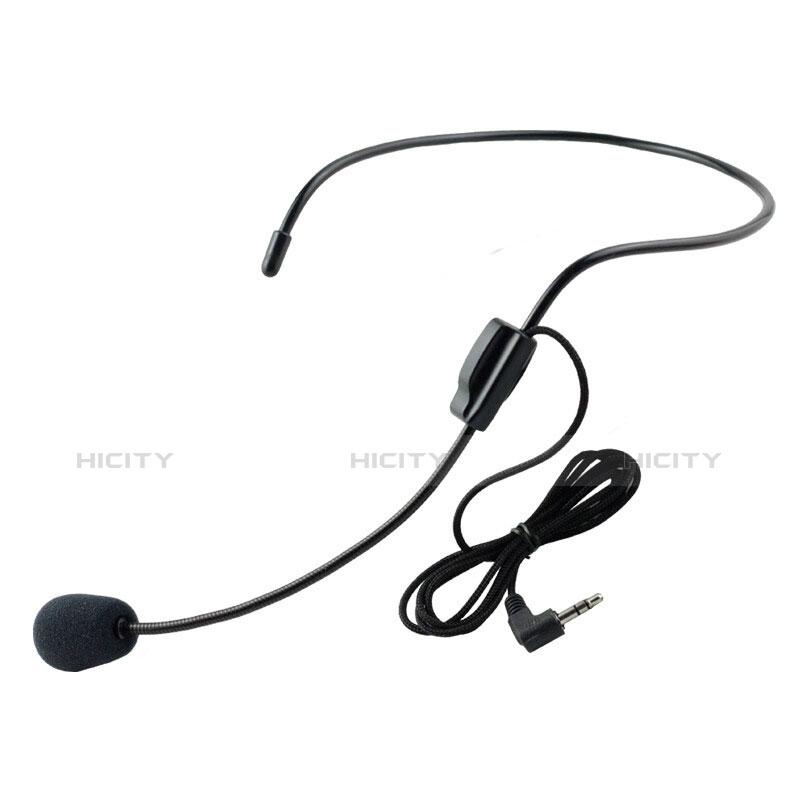 3.5mm Mini Microphone de Poche Elegant Karaoke Haut-Parleur M11 Noir Plus