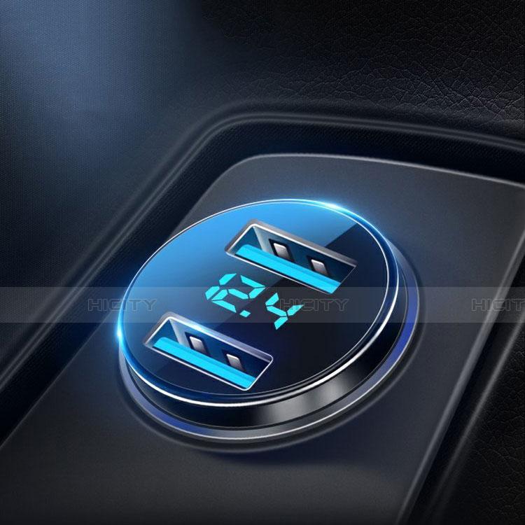 4.8A Adaptateur de Voiture Chargeur Rapide Double USB Port Universel K10 Plus