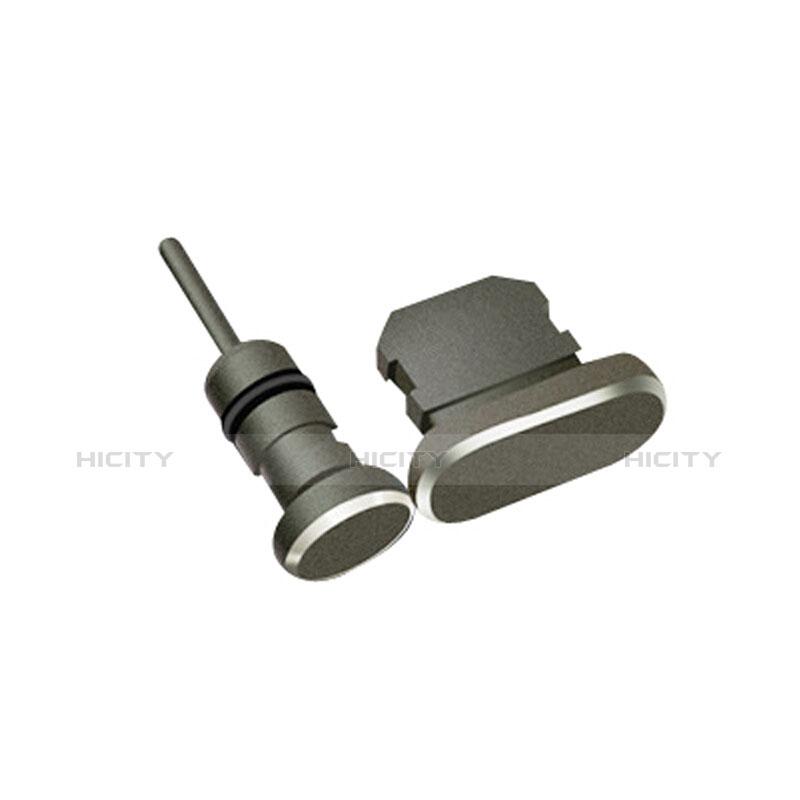 Bouchon Anti-poussiere Lightning USB Jack J01 pour Apple iPhone 11 Noir Plus