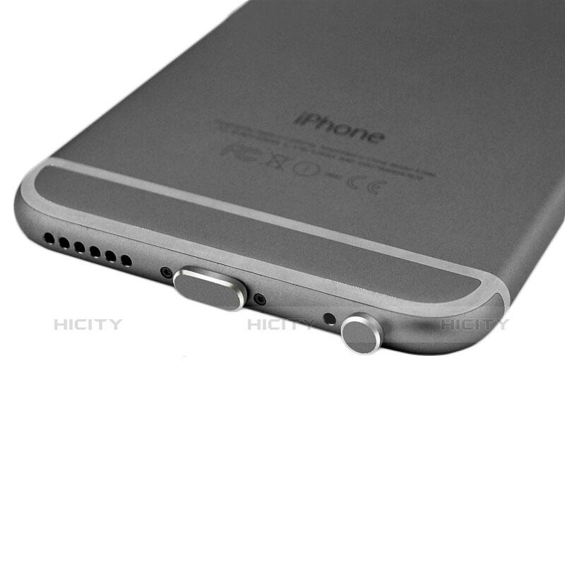 Bouchon Anti-poussiere Lightning USB Jack J01 pour Apple iPhone 11 Pro Max Noir Plus