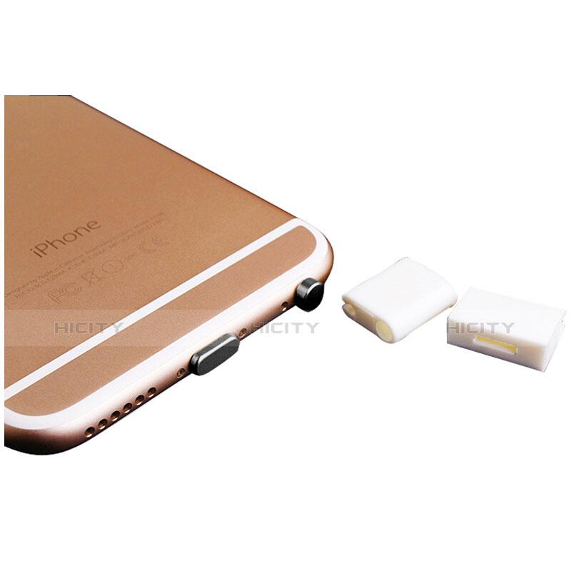 Bouchon Anti-poussiere Lightning USB Jack J02 pour Apple iPhone 11 Noir Plus