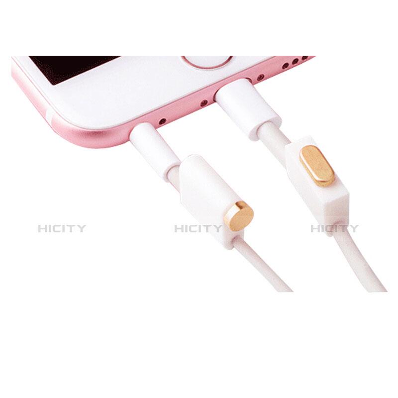 Bouchon Anti-poussiere Lightning USB Jack J02 pour Apple iPhone 11 Or Plus