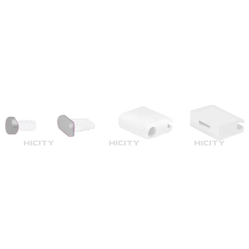 Bouchon Anti-poussiere Lightning USB Jack J02 pour Apple iPhone 11 Pro Max Argent Plus