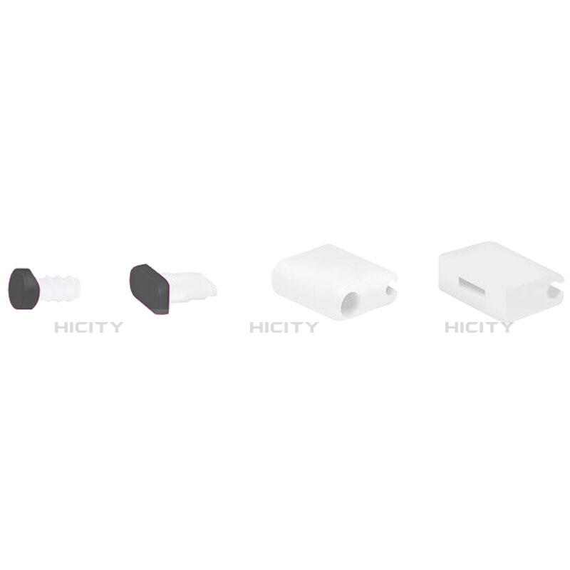 Bouchon Anti-poussiere Lightning USB Jack J02 pour Apple iPhone 11 Pro Max Noir Plus