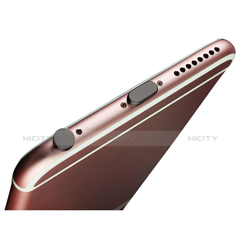 Bouchon Anti-poussiere Lightning USB Jack J02 pour Apple iPhone 11 Pro Noir Plus