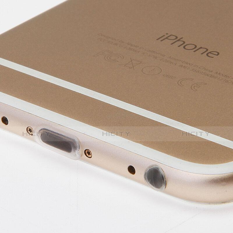 Bouchon Anti-poussiere Lightning USB Jack J03 pour Apple iPhone 11 Blanc Plus