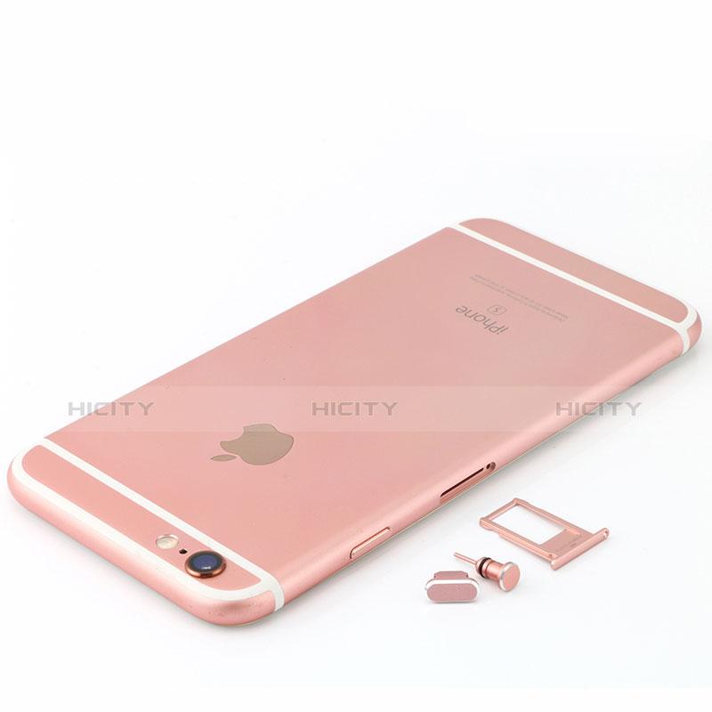 Bouchon Anti-poussiere Lightning USB Jack J04 pour Apple iPhone 11 Pro Max Or Rose Plus