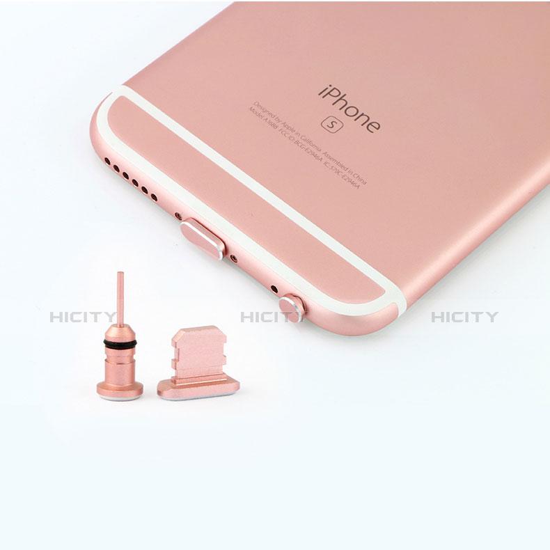 Bouchon Anti-poussiere Lightning USB Jack J04 pour Apple iPhone 11 Pro Or Rose Plus