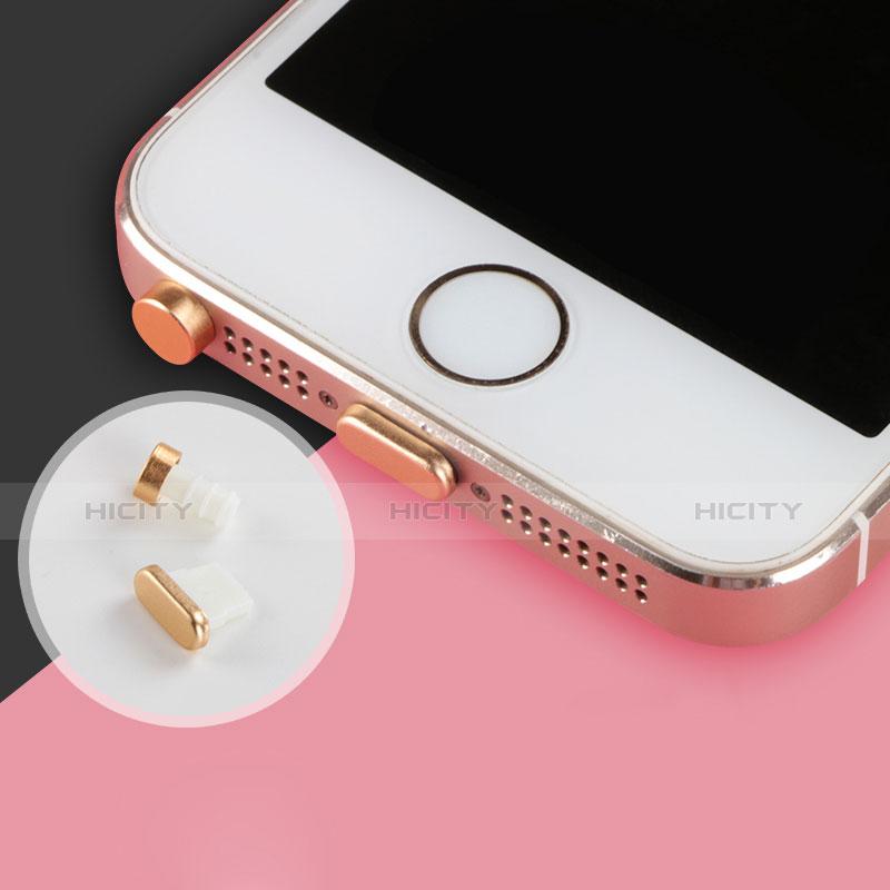 Bouchon Anti-poussiere Lightning USB Jack J05 pour Apple iPhone 11 Argent Plus