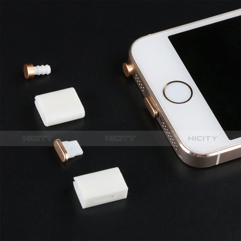 Bouchon Anti-poussiere Lightning USB Jack J05 pour Apple iPhone 11 Or Plus