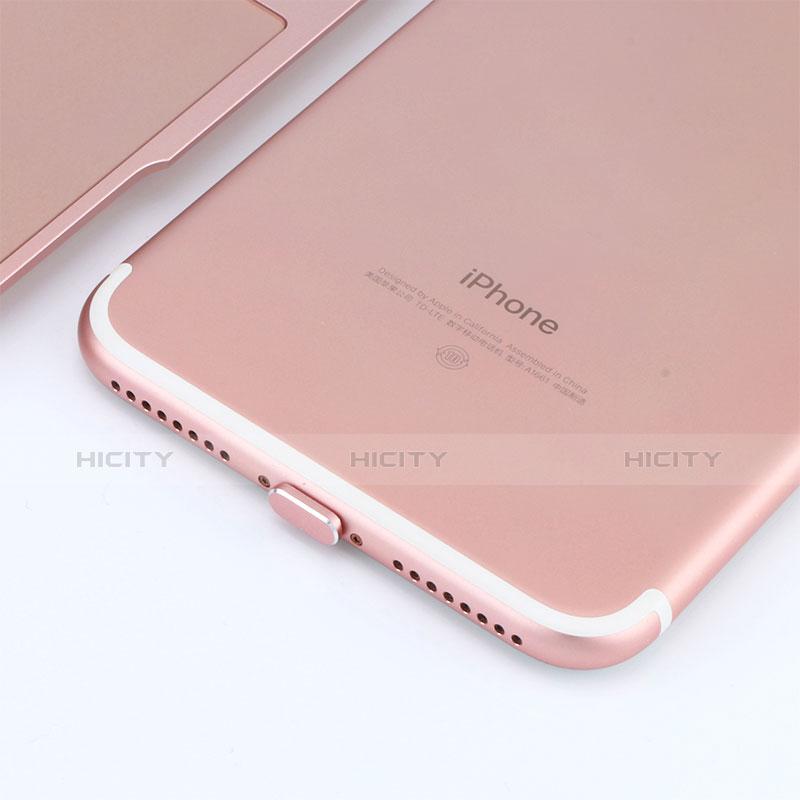 Bouchon Anti-poussiere Lightning USB Jack J06 pour Apple iPhone 11 Or Rose Plus