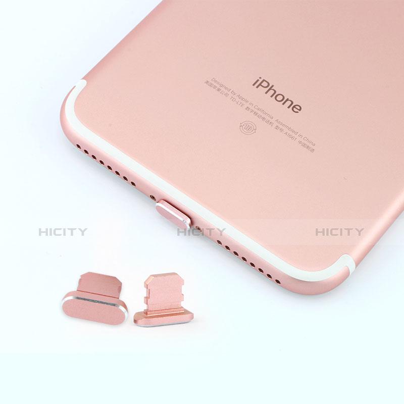 Bouchon Anti-poussiere Lightning USB Jack J06 pour Apple iPhone 11 Pro Max Argent Plus