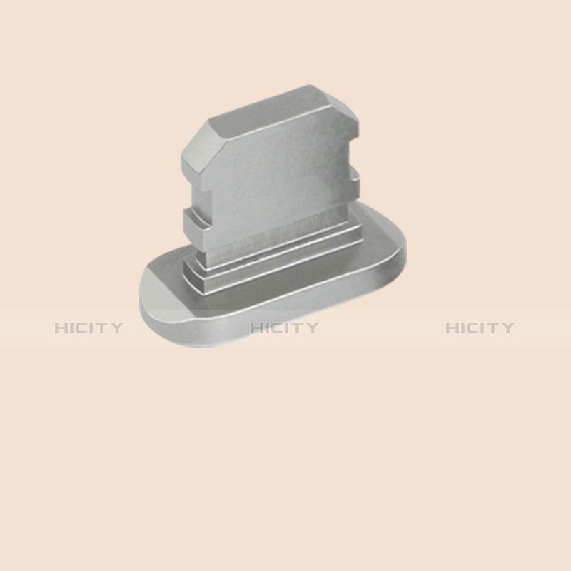 Bouchon Anti-poussiere Lightning USB Jack J06 pour Apple iPhone 11 Pro Max Gris Plus