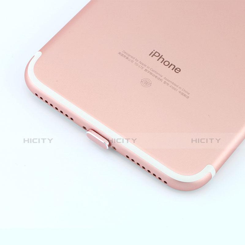 Bouchon Anti-poussiere Lightning USB Jack J06 pour Apple iPhone 11 Pro Max Or Rose Plus