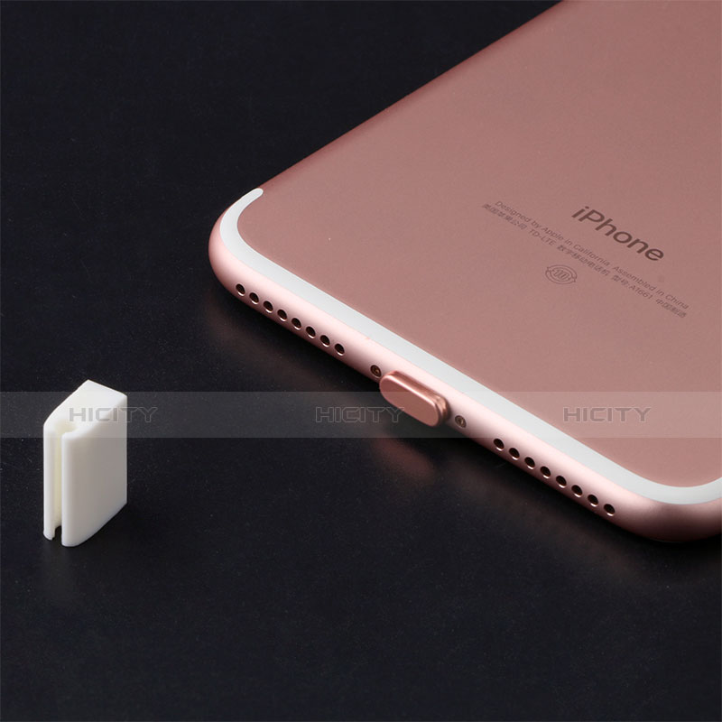 Bouchon Anti-poussiere Lightning USB Jack J07 pour Apple iPhone 11 Pro Max Or Plus