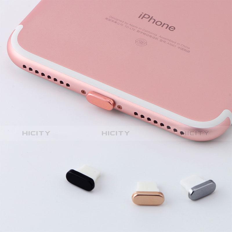 Bouchon Anti-poussiere Lightning USB Jack J07 pour Apple iPhone 11 Rouge Plus