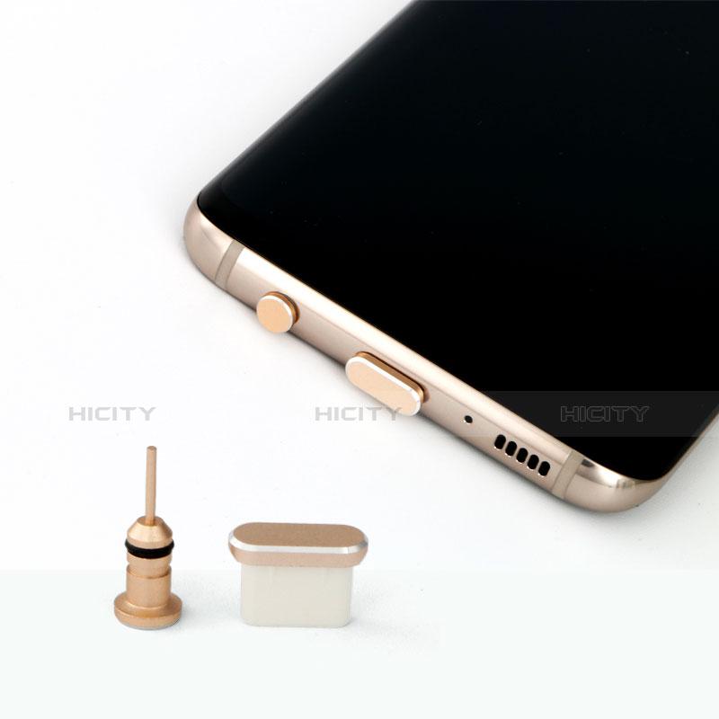 Bouchon Anti-poussiere USB Jack Android Type-C Universel Noir Plus