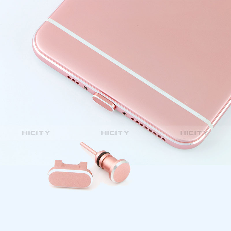 Bouchon Anti-poussiere USB Jack Android Universel C02 Or Rose Plus