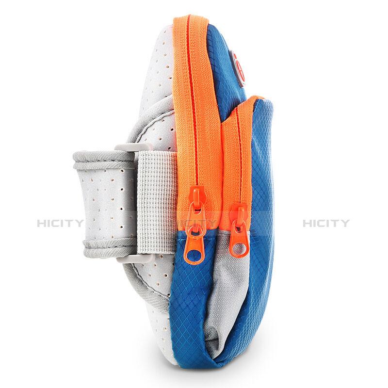 Brassard Sport Coque Losange Universel B01 Bleu Plus