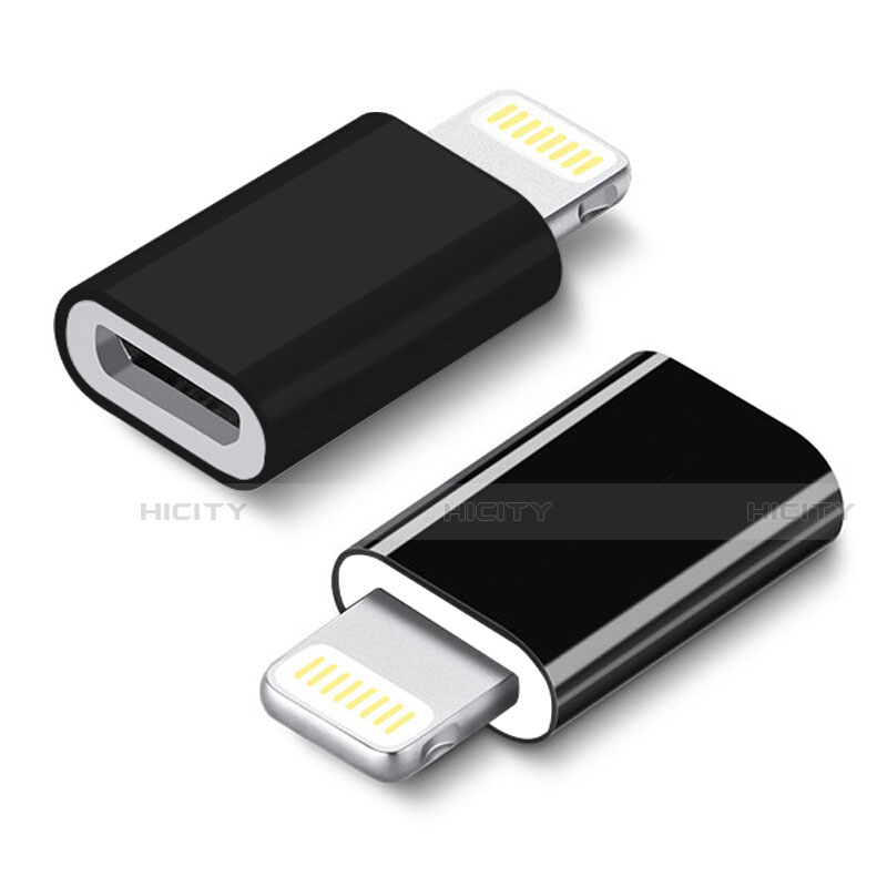 Cable Android Micro USB vers Lightning USB H01 pour Apple iPhone 11 Pro Noir Plus