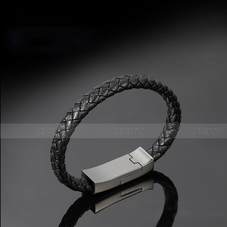 Cable Micro USB Android Universel 20cm S01 Noir Plus