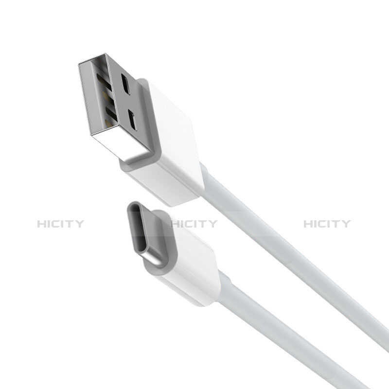 Cable Type-C Android Universel T05 Blanc Plus