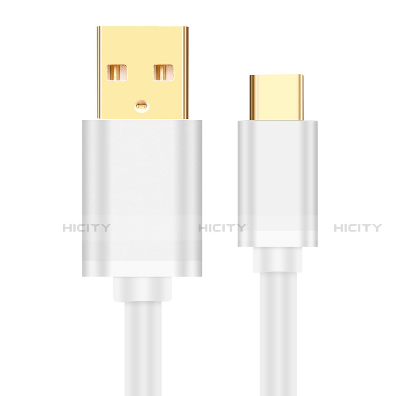 Cable Type-C Android Universel T11 Blanc Plus